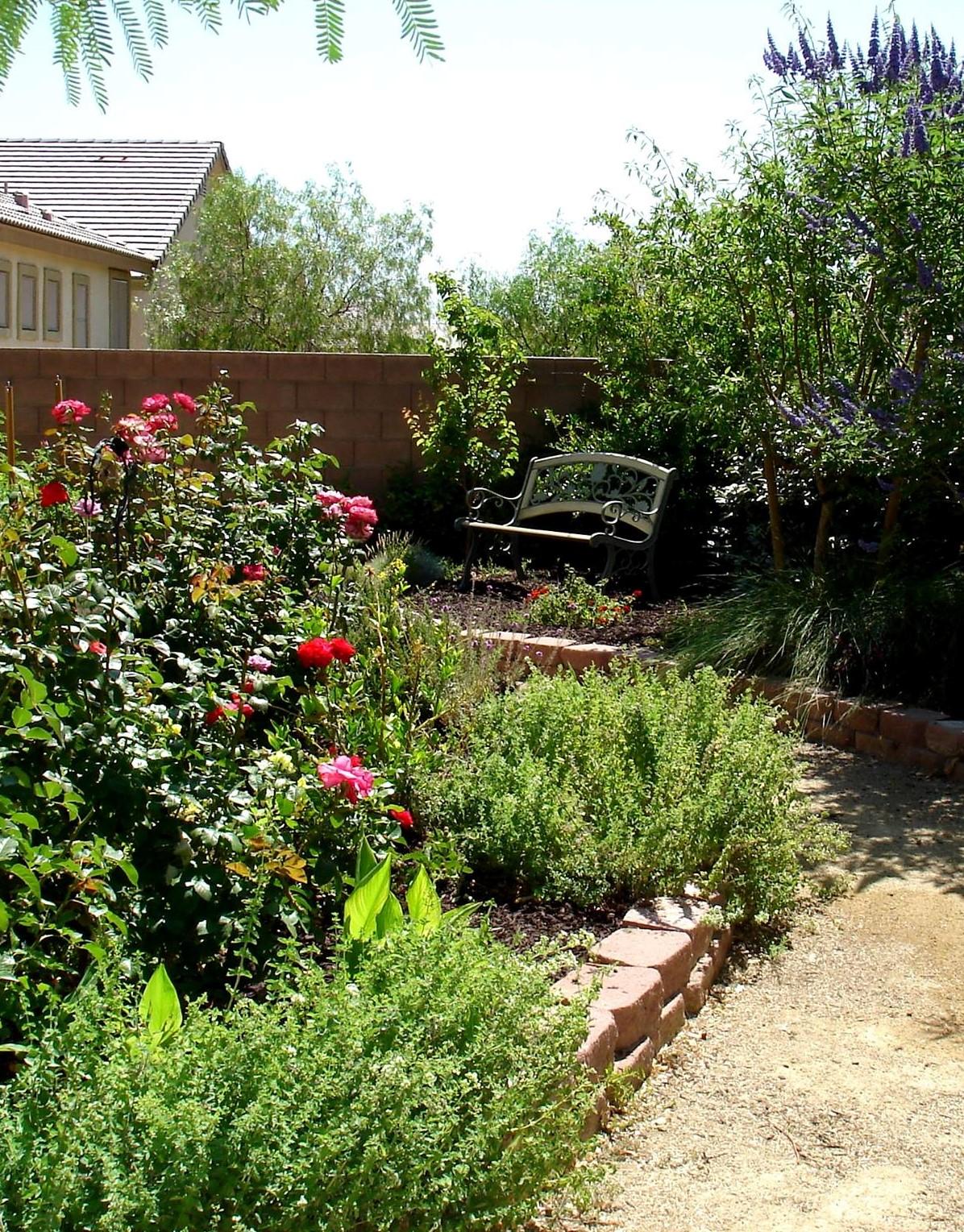 Small Backyard Agriscape Jen's Garden - NL